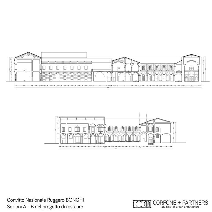 restauro e riqualificazione Convitto Bonghi 06