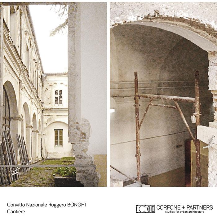 restauro e riqualificazione Convitto Bonghi 16
