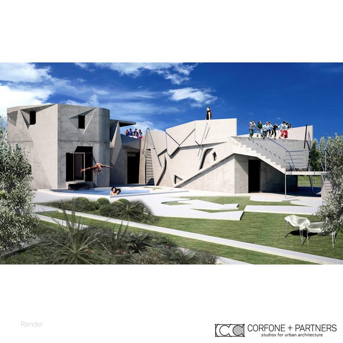 Casa ba2 corfone partners - Deumidificare la casa ...
