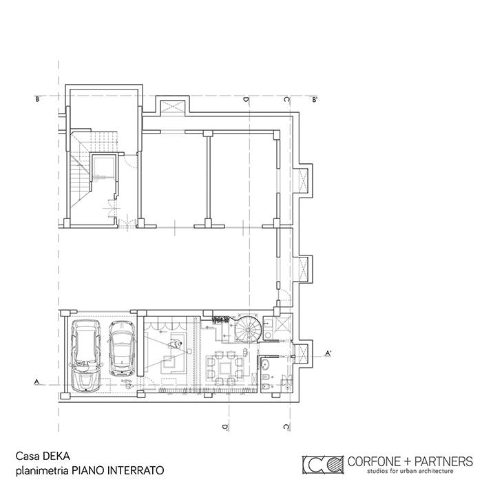 Progetto di nuova costruzione a manfredonia corfone for Piano di progetto di costruzione casa