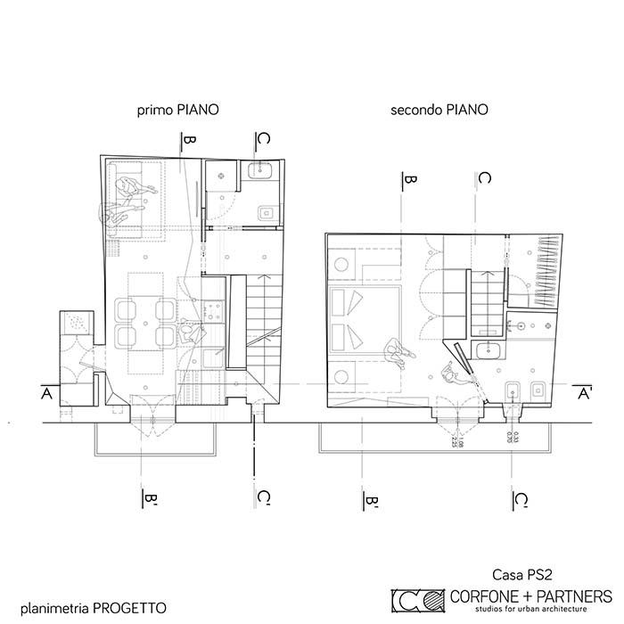 Progetto architettonico di Casa PS2 a Vieste 01