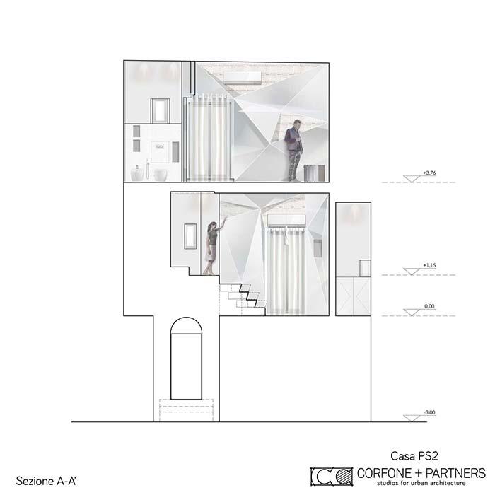 Progetto architettonico di Casa PS2 a Vieste 02