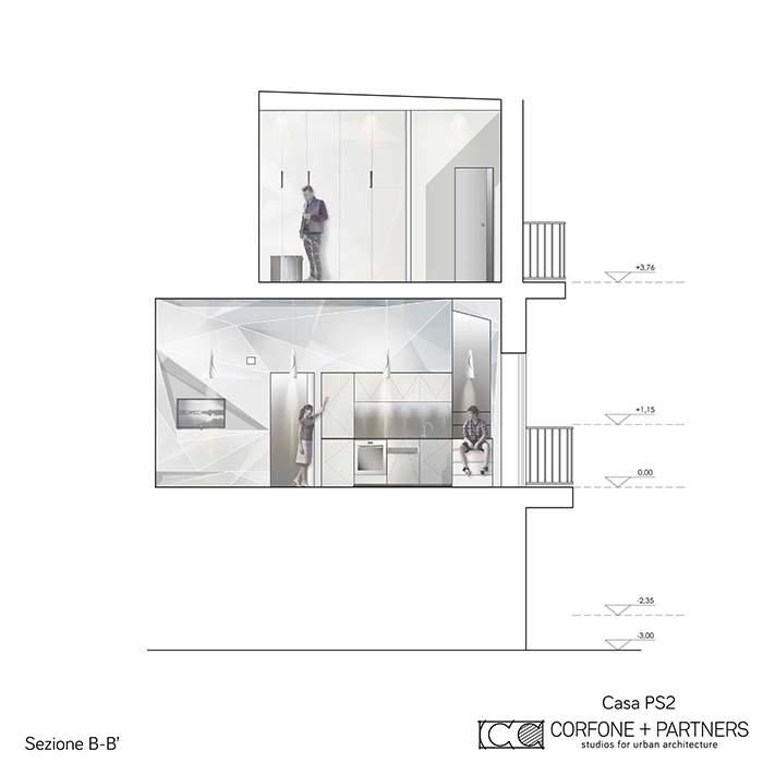 Progetto architettonico di Casa PS2 a Vieste 03