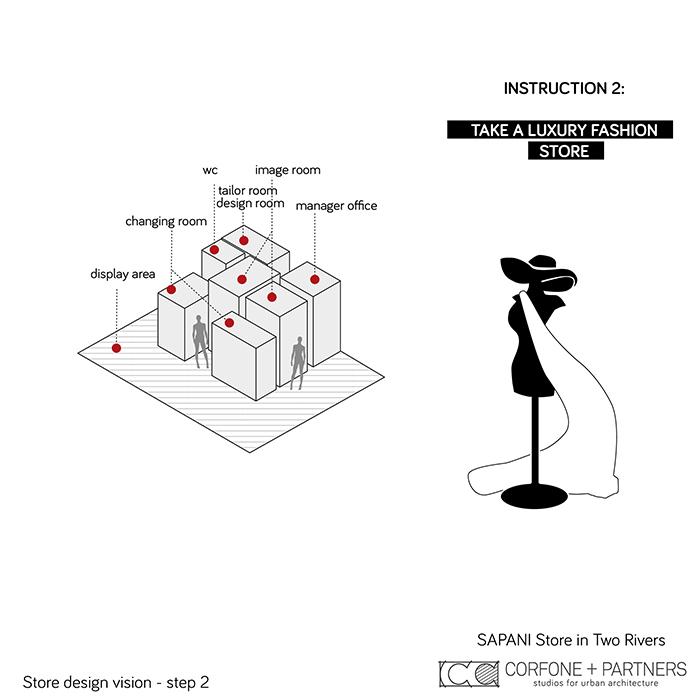 Interni di design per un Luxury Fashion Concept Store 03