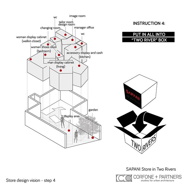 Interni di design per un Luxury Fashion Concept Store 05