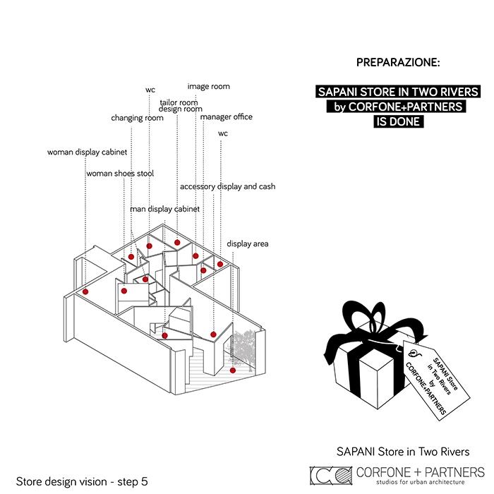 Interni di design per un Luxury Fashion Concept Store 06