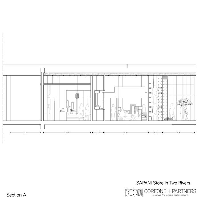 Interni di design per un Luxury Fashion Concept Store 10