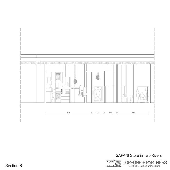 Interni di design per un Luxury Fashion Concept Store 11