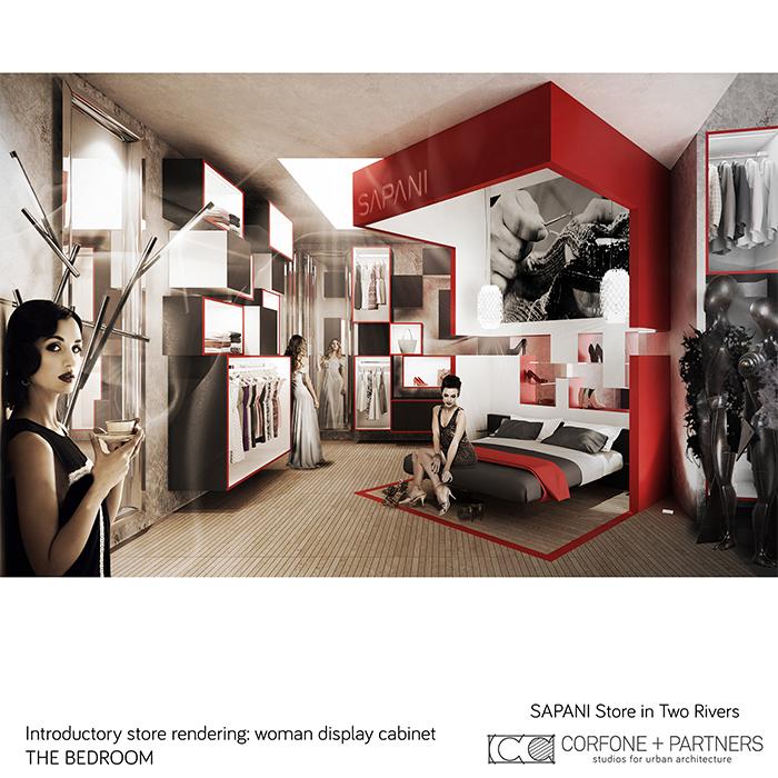 Interni di design per un Luxury Fashion Concept Store 12
