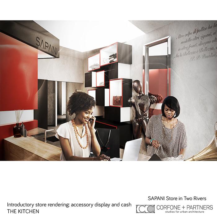Interni di design per un Luxury Fashion Concept Store 14