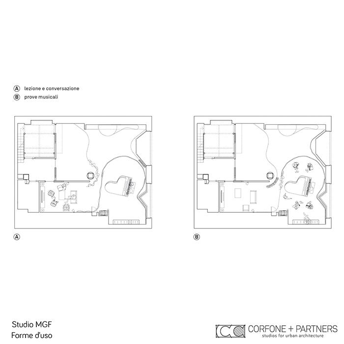 Progetto di architettura STUDIO MGF 21