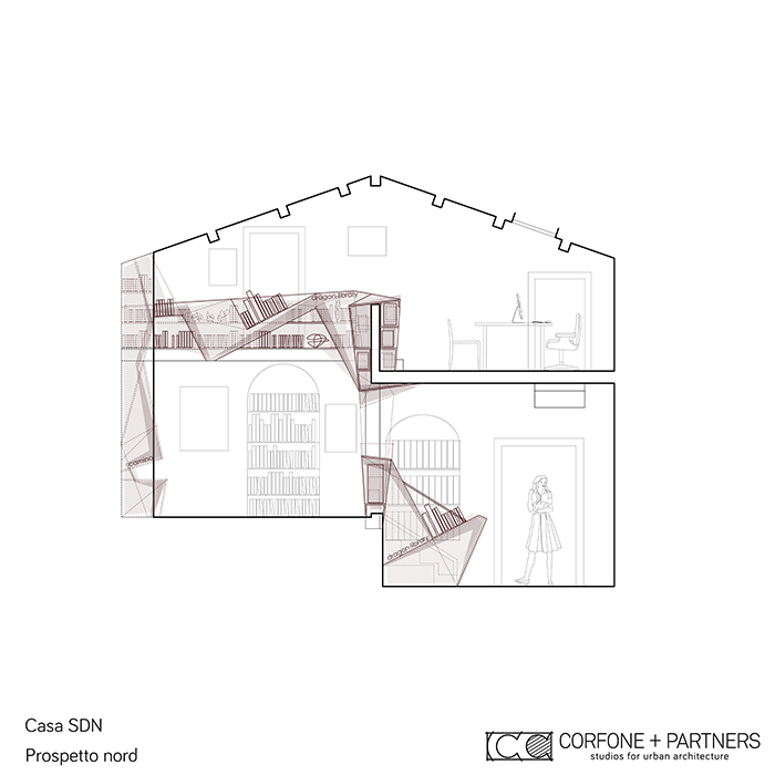 Progetto di ristrutturazione di casa sdn corfone partners for Progetto di ristrutturazione
