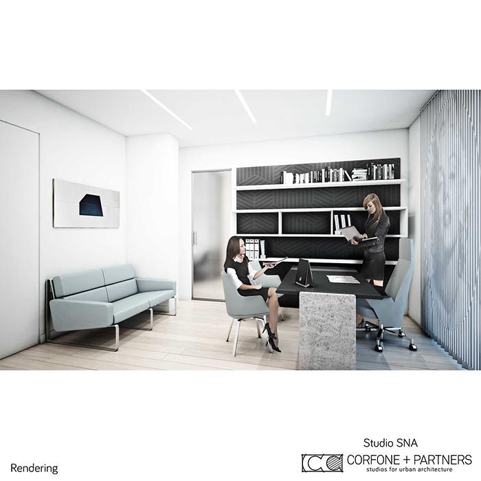 Progetto architettonico Studio SNA 20