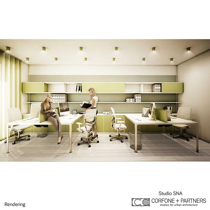 Progetto architettonico Studio SNA 21