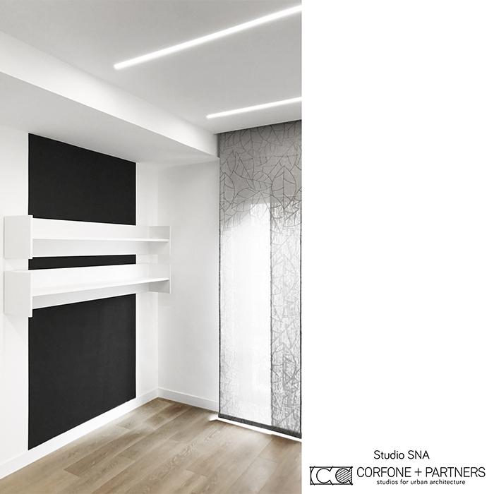 Progetto architettonico Studio SNA real 06