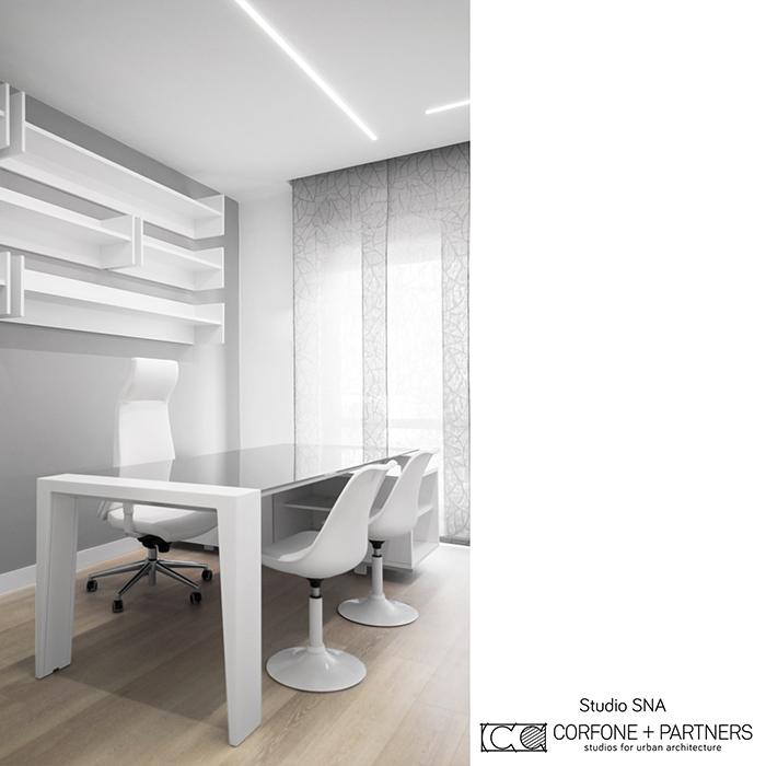 Progetto architettonico Studio SNA real 07