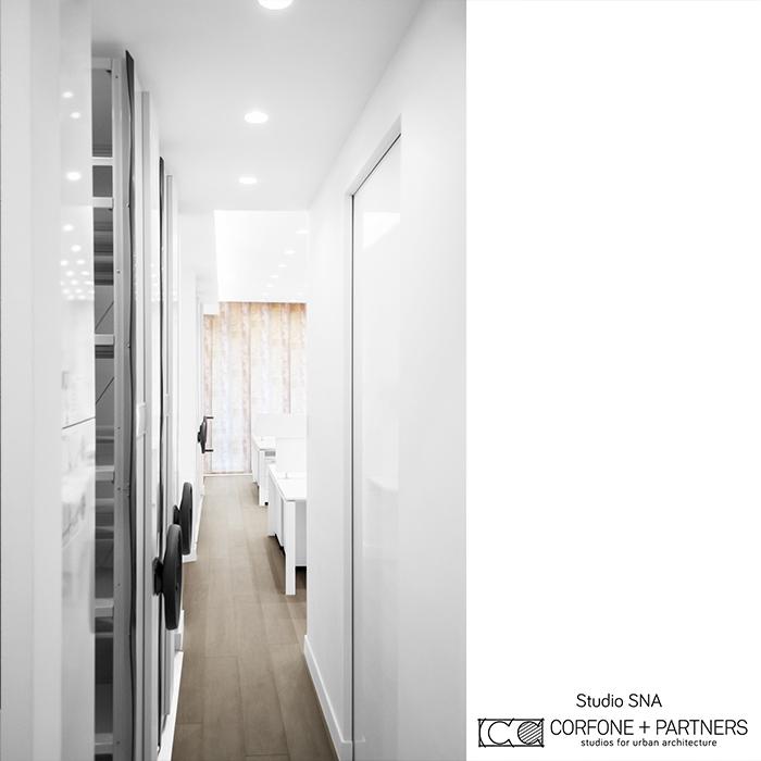 Progetto architettonico Studio SNA real 09