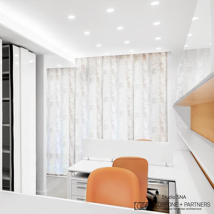 Progetto architettonico Studio SNA real 10