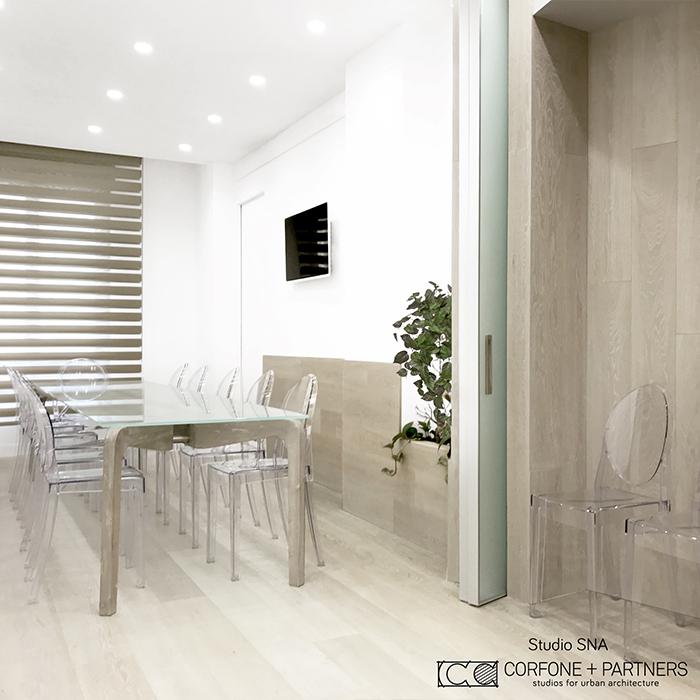 Progetto architettonico Studio SNA real 12