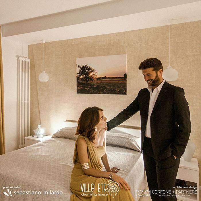 Restyling Bed & Breakfast Villa Etrò 12