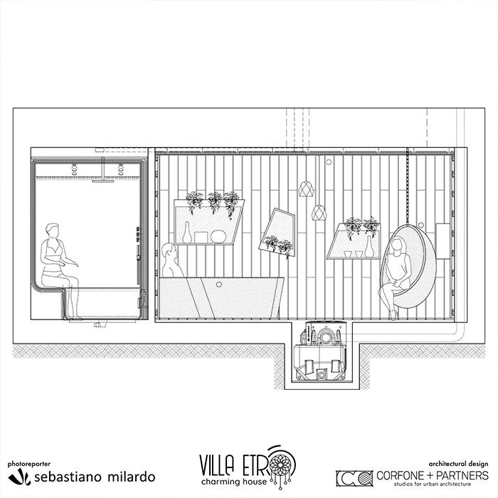Restyling Bed & Breakfast Villa Etrò 35