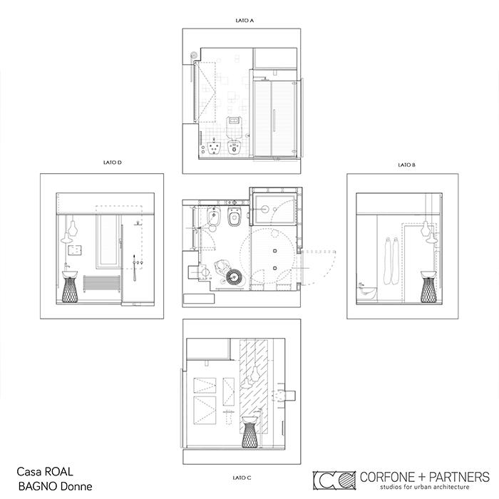 Allestimento architettonico Casa ROAL 08