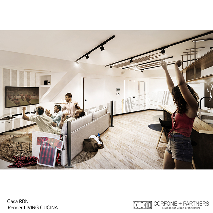 Progetto allestimento Casa RDN 04