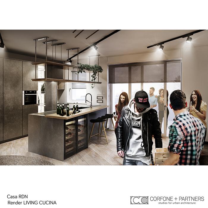 Progetto allestimento Casa RDN 05