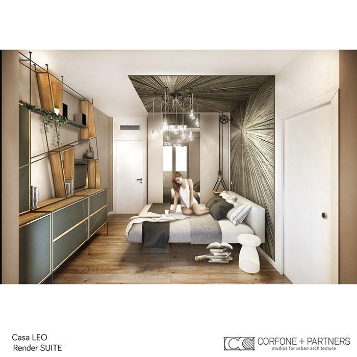 Riconfigurazione architettonica Casa LEO 12