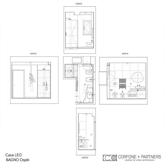 Riconfigurazione architettonica Casa LEO 20