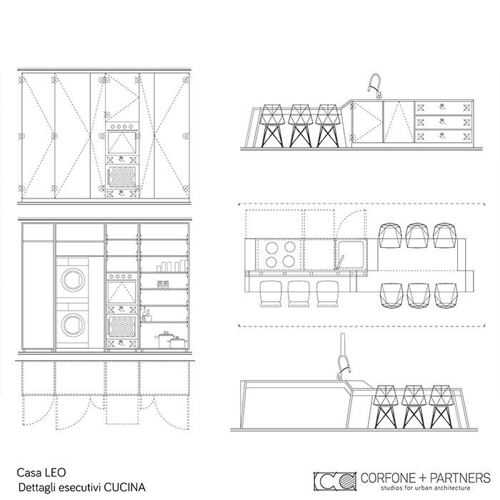 Riconfigurazione architettonica Casa LEO 23