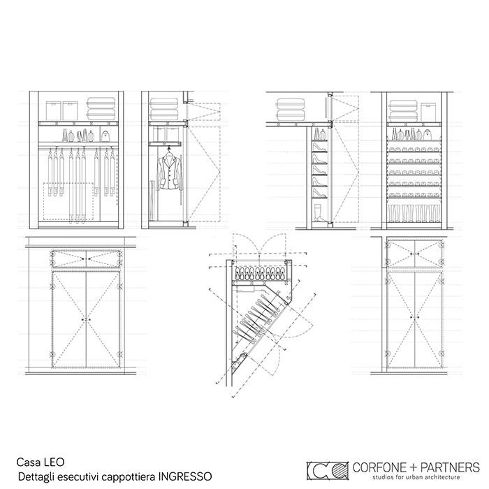 Riconfigurazione architettonica Casa LEO 25
