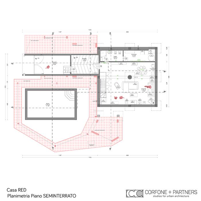 Progetto Villa rurale Casa RED a San Giovanni Rotondo 05