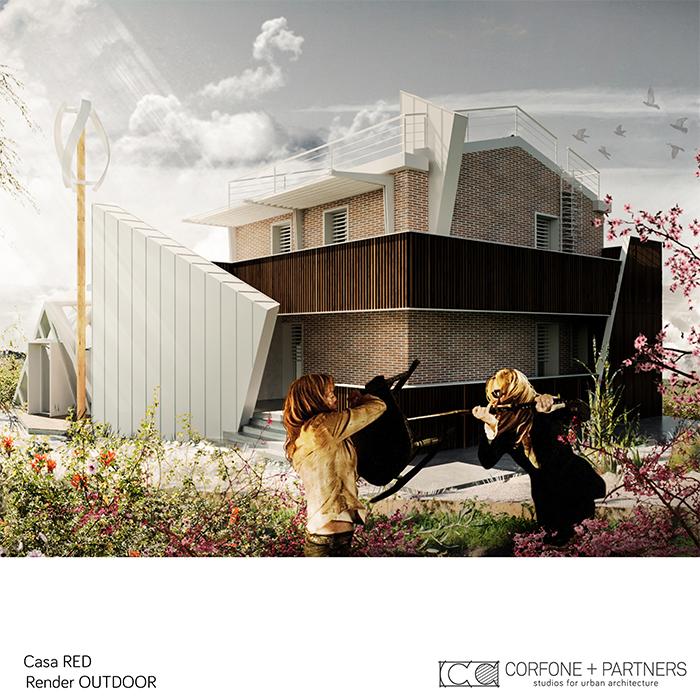 Progetto Villa rurale Casa RED a San Giovanni Rotondo 09