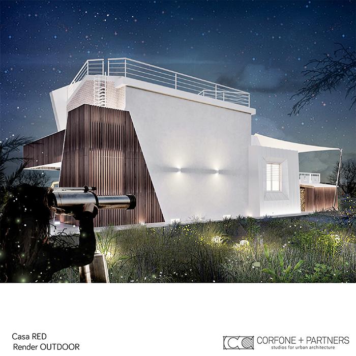 Progetto Villa rurale Casa RED a San Giovanni Rotondo 10