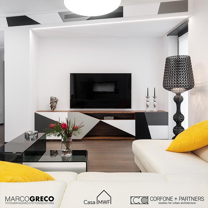 progettazione nuova costruzione Milano Casa MWF 06