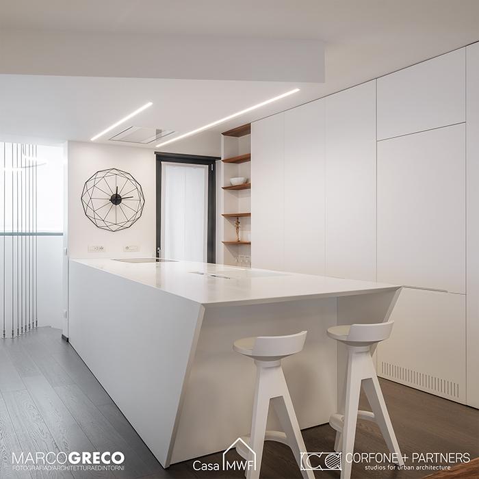 progettazione nuova costruzione Milano Casa MWF 09