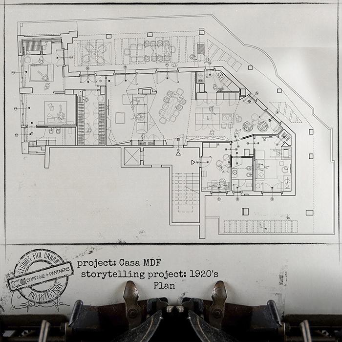Progetto casa di design MDF 02