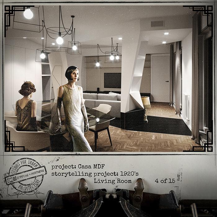Progetto casa di design MDF 06