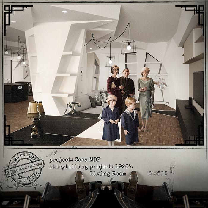 Progetto casa di design MDF 07