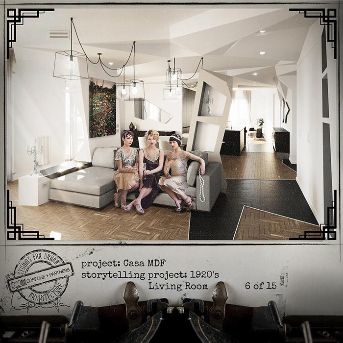 Progetto casa di design MDF 08