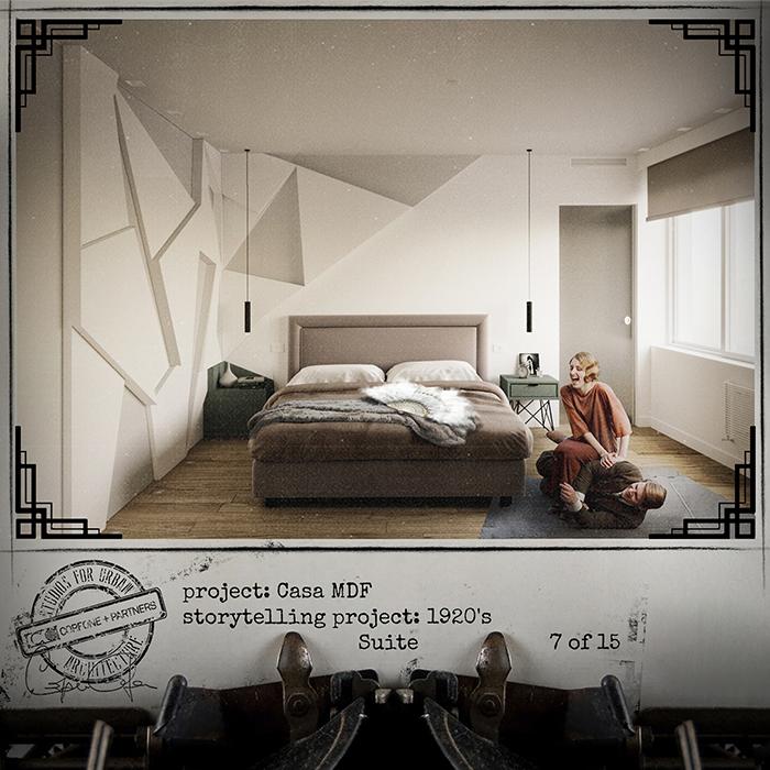 Progetto casa di design MDF 09