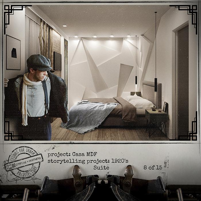 Progetto casa di design MDF 10