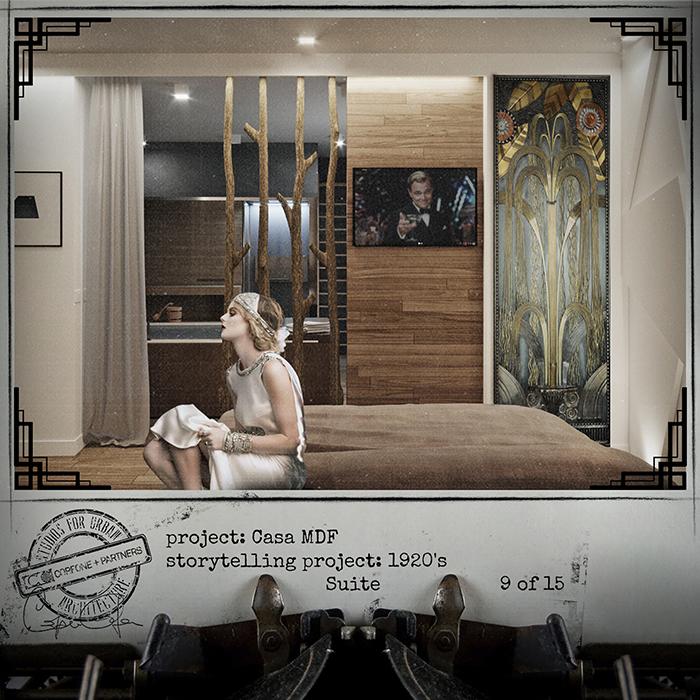 Progetto casa di design MDF 11
