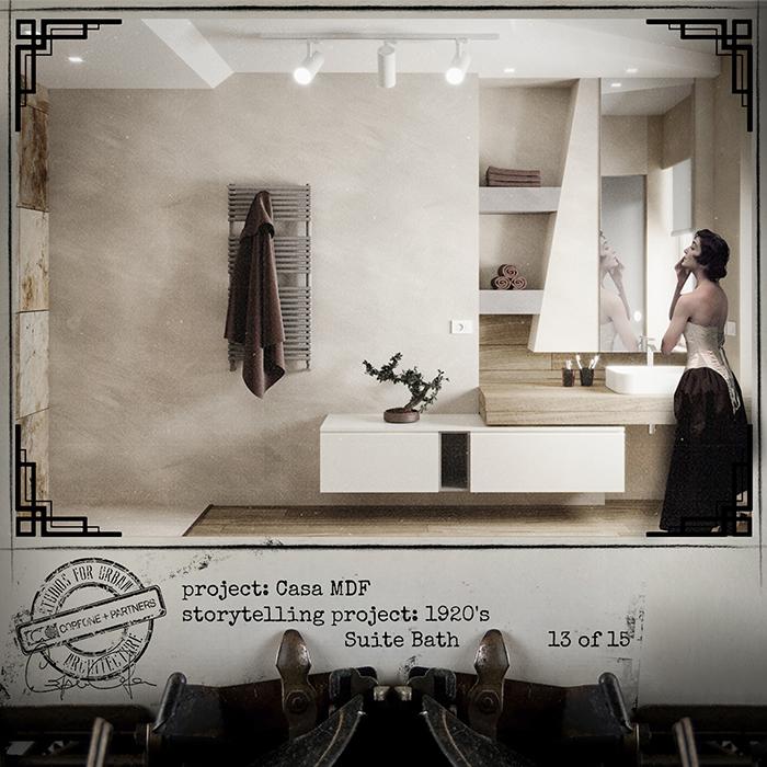 Progetto casa di design MDF 15